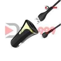 شارژر فندکی فست هوکو مدل Z31 به همراه کابل micro USB