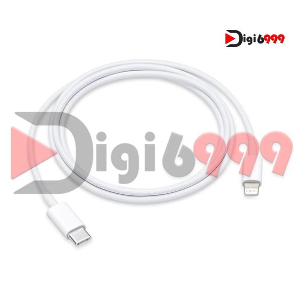 کابل شارژ آیفون فست شارژ اورجینال 3 آمپر 18 وات PD مناسب برای iPhone XR-X-XS-XS Max-11-11 Pro-11 Pro Max