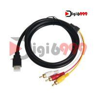 کابل HDMI به 3RCA اکتیولینک مدل HT3 طول 1.5متر