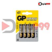 باتری قلمی سوپرسل کربن زینک GP چهار عددی