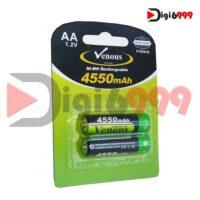 باتری قلمی شارژی ونوس مدل 8